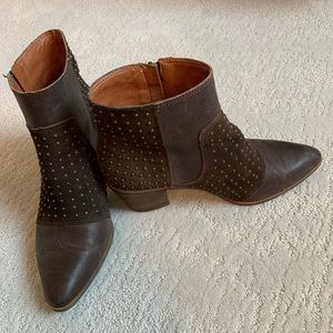 Lucky Brand Booties Size8